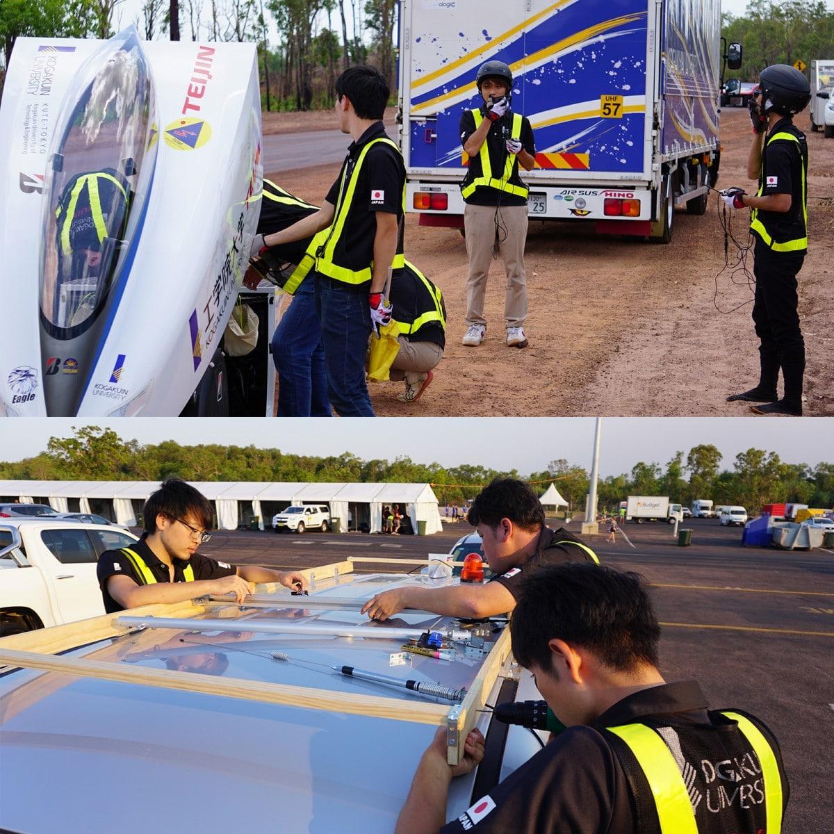 4回目の公道テスト走行とサポートカーの準備