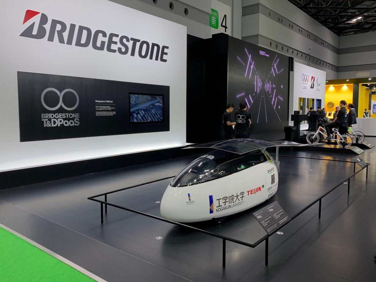 第46回東京モーターショー2019に2017年型ソーラーカーを展示