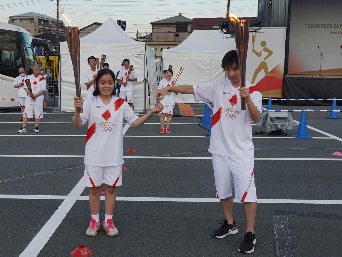 区間17人(組)目の東京都立南大沢学園バスケットボール部Bチームから18人目の浅野杏樹マリさんへ。