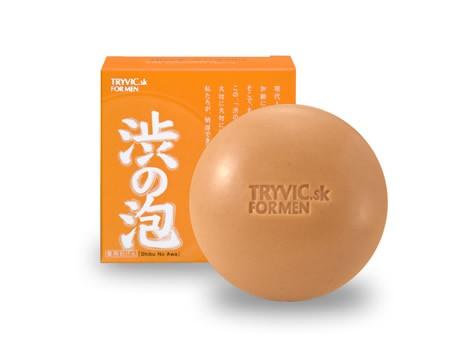 渋みのエキス「柿タンニン」の抗酸化作用で、年齢とともに出てくる加齢臭を消臭し、保湿するという。