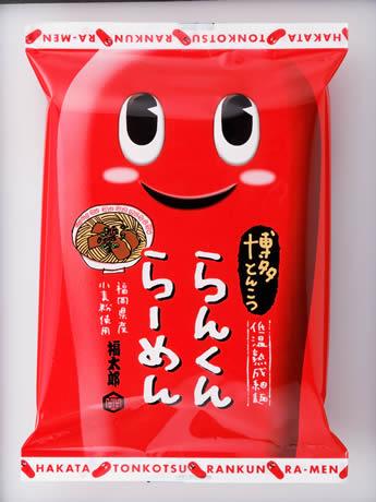 福太郎がオリジナル商品「博多とんこつ らんくんらーめん」を販売