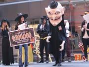 博多で仮装500人がハロウィーンパレード-天地人の仮装も