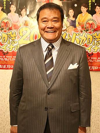 映画「釣りバカ日誌20ファイナル」主演の西田敏行さん