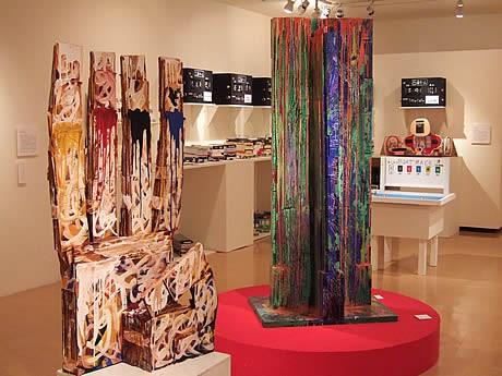ギャラリーアートリエで企画展「エイブルアート2010LifeMap-テトテトテノアイダ-」が開催