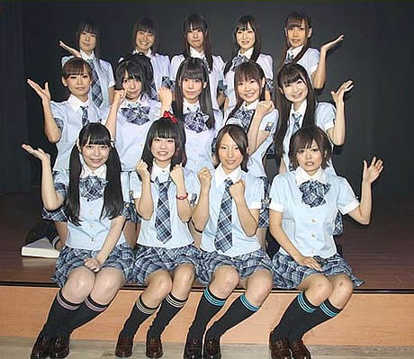 福岡市東区箱崎に専用劇場を持つアイドルグループ「HR(エイチアール)」