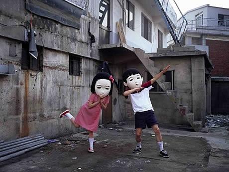 ギャラリーアートリエで「韓日現代美術展」が開催