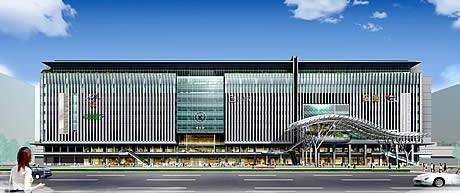 年間PV1位は「JR博多シティ」が輝いた