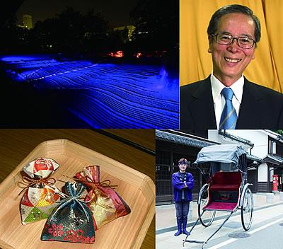 人力車で長谷川法世さんと巡るプレミアムツアーを実施