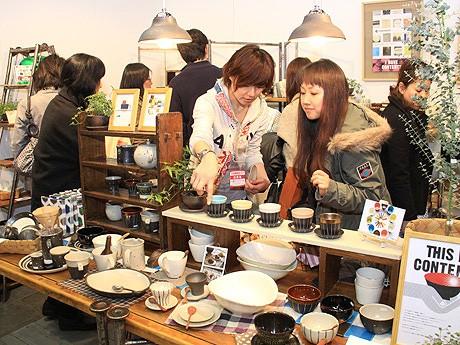マリンメッセ福岡で「全国陶磁器フェアin福岡」が開催