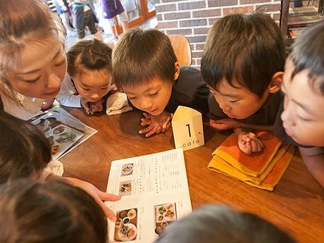 JR博多シティでイベント「こどもcafe」が開催