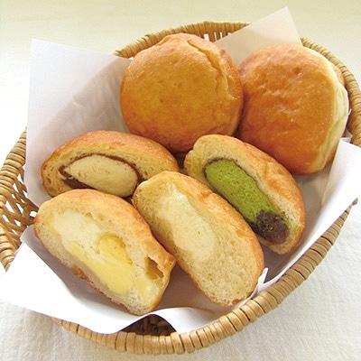 長野オリンピックの金メダリスト・船木和喜さんが考案した「生クリーム入りドーナツ」