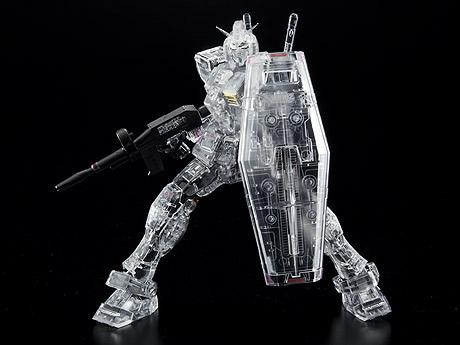 RG RX-78-2 ガンダム クリアVer. (1/144 サイズ) ©創通・サンライズ