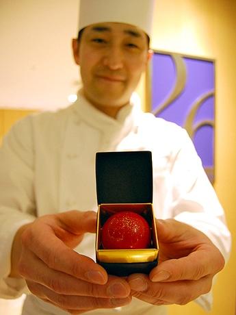 グランドハイアット福岡にドン・ペリニヨンを使ったバレンタイン限定のチョコレートが登場