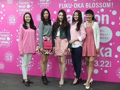 福岡市内で「ファッションウィーク福岡2015」が開催
