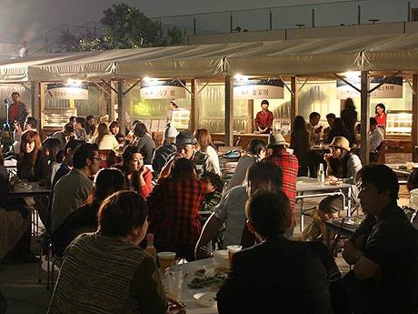 JR博多シティ屋上で「天空のくうてん」が開催