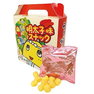 博多限定の菓子「明太子味スナック」