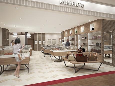キャナルシティ博多に「KOMEHYO」がオープン(店舗イメージ)