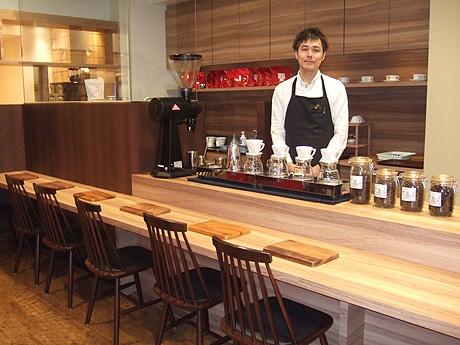 コーヒー豆の焙煎世界大会で優勝した後藤直紀さん