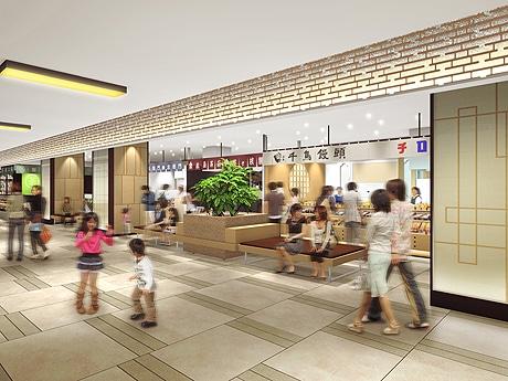 和菓子の実演販売コーナー「和菓子工房」イメージ