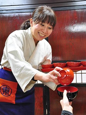 博多阪急で物産イベント「東北6県うまいもの大会」が開催