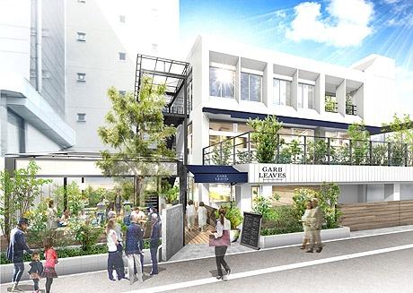 博多にレストラン・バー&カフェ「GARB LEAVES」がオープン