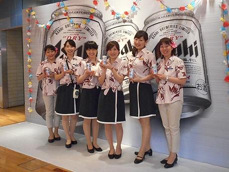 アサヒビール博多工場で「博多工場ナイトツアー」が開催