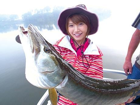 みっぴの愛称で人気を集める釣りガール・秋丸美帆さん