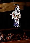 市川猿之助さん、博多座で「宙乗り豆まき」 「二月花形歌舞伎」が開幕