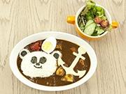 ベイサイドプレイス博多にアニメ「パパンがパンダ!」カフェ