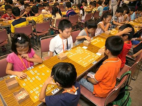 福岡国際センターで「将棋日本シリーズ」が開催(写真は以前開催された様子)