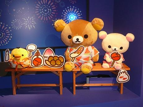 博多阪急で「和リラックマ展」 限定グッズコーナーも
