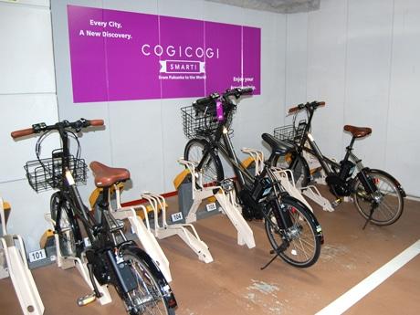 キャナルシティ博多が自転車のシェアサービスを導入