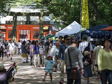 住吉神社で「大博多輸入雑貨市」が開催