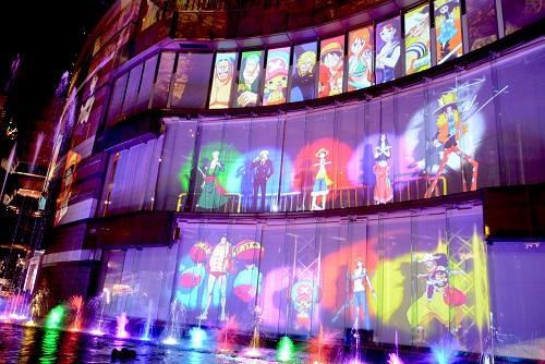 2016年11月に上映された「ワンピースウォータースペクタクル」第1弾が再登場。第2弾と同時上映。 ©尾田栄一郎/集英社・フジテレビ・東映アニメーション