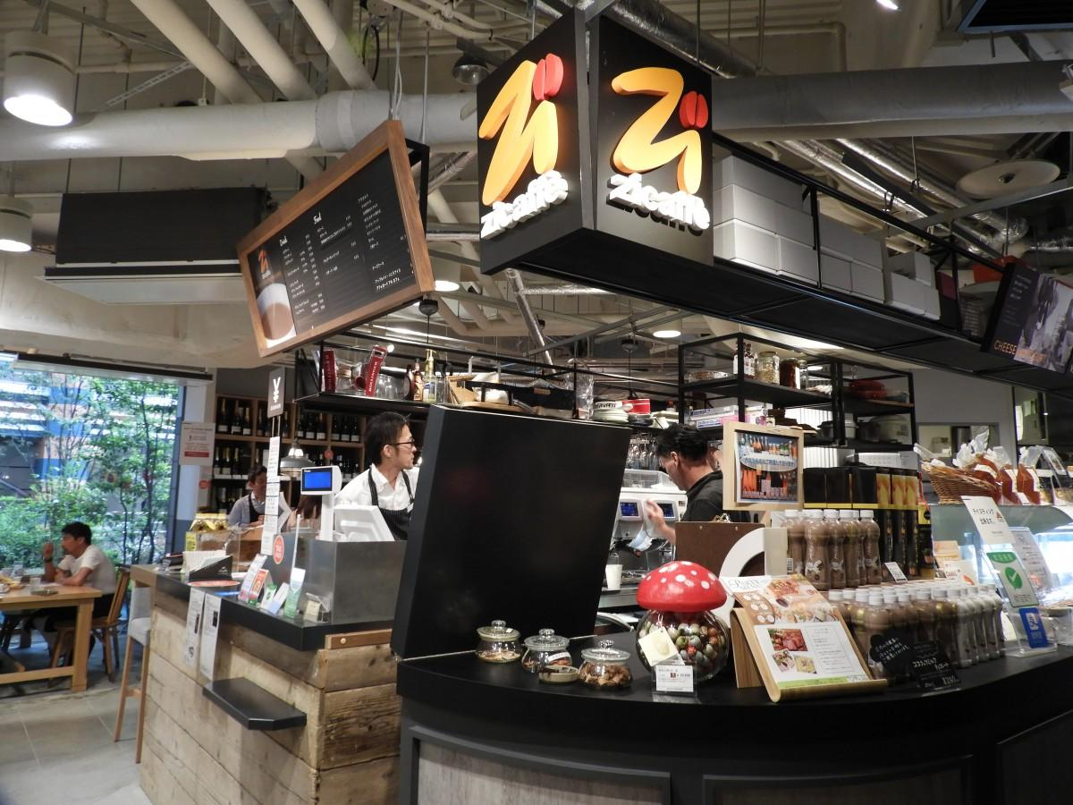 キャナルシティ博多に「ジーカフェ」がオープン