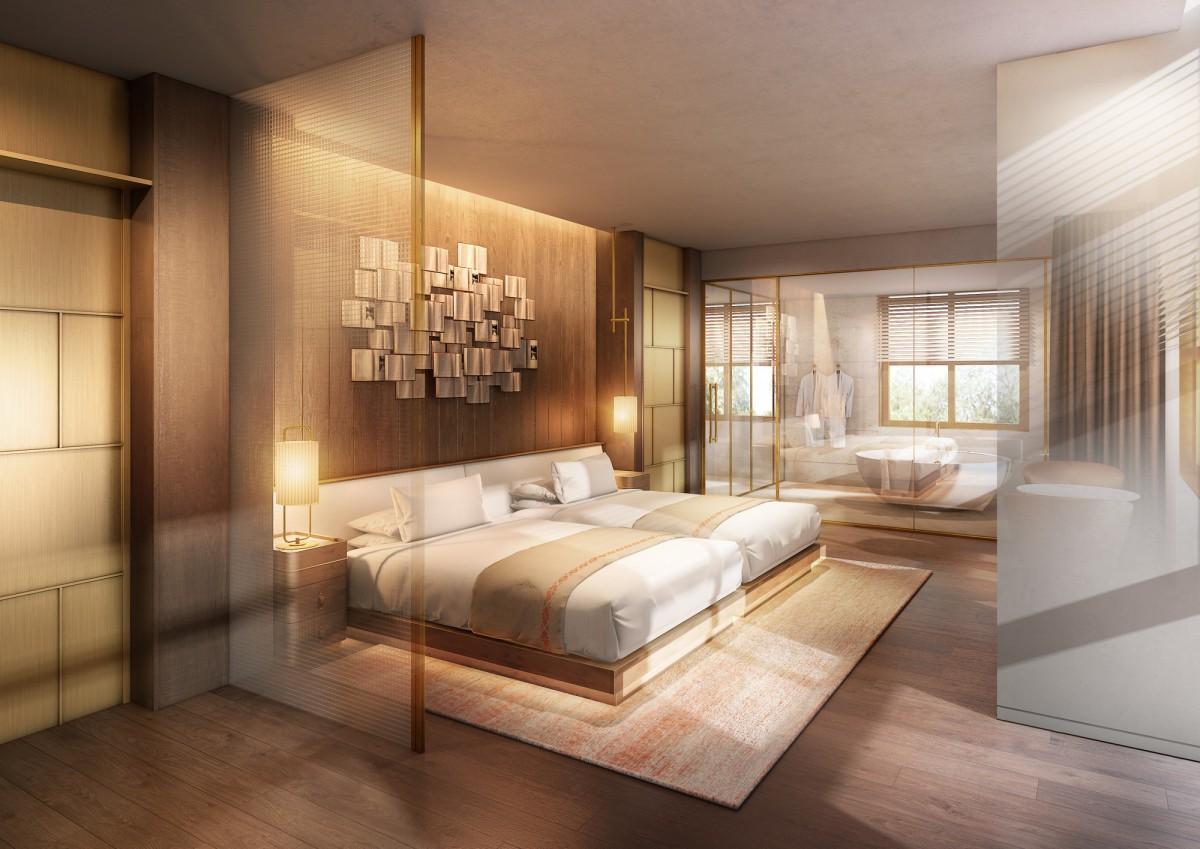 リブランドオープン後の新ホテル客室イメージ
