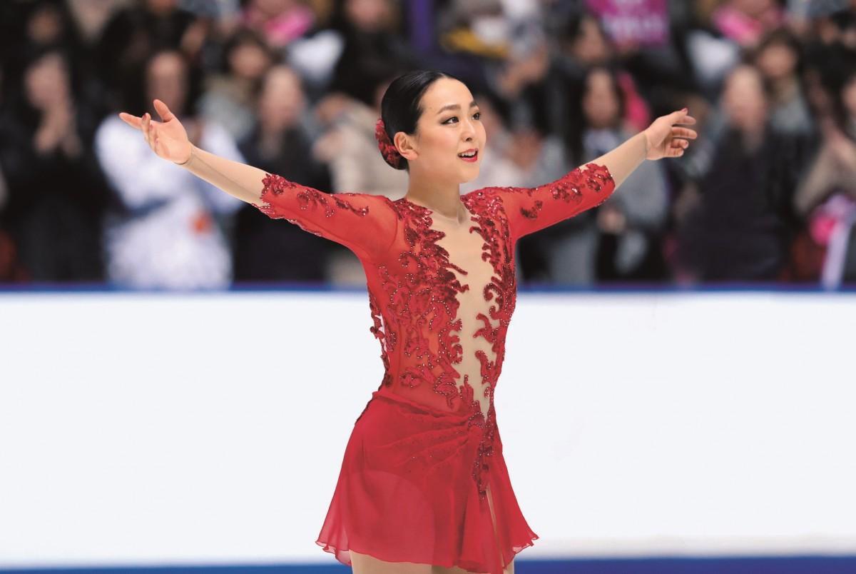 「美しき氷上の妖精 浅田真央展」 ©ジャパンスポーツ