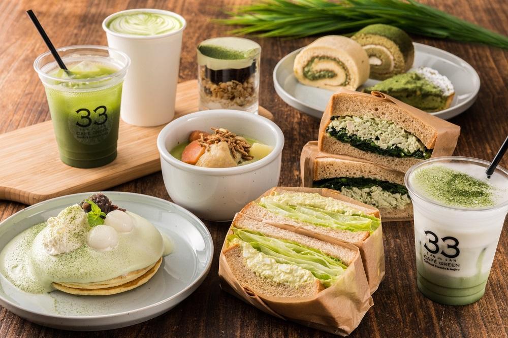 アサヒ緑健の「緑効青汁」を使ったカフェがオープン
