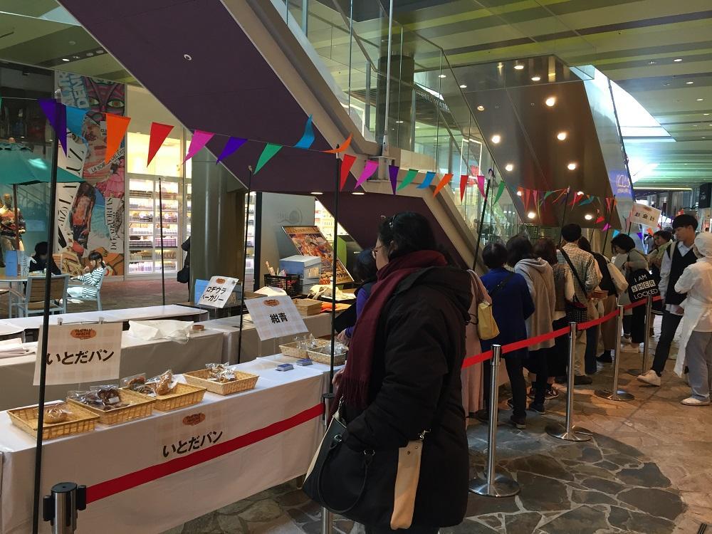 キャナルシティ博多で「フクオカクリスマスマルシェ」が開催(昨年の様子)