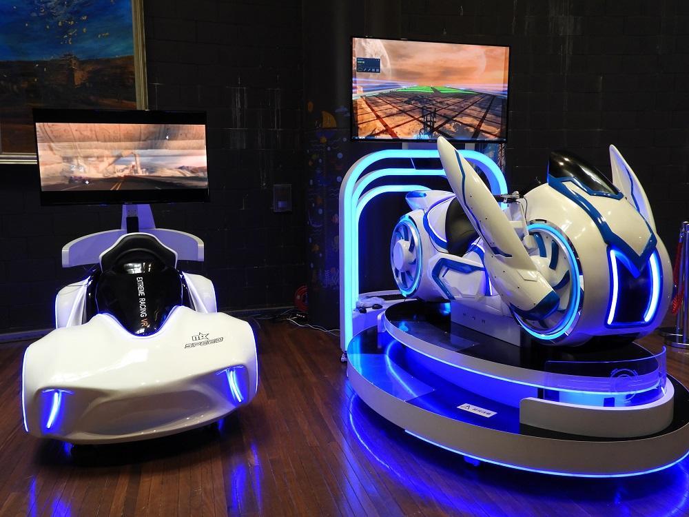 「車型VR」と「バイク型VR」