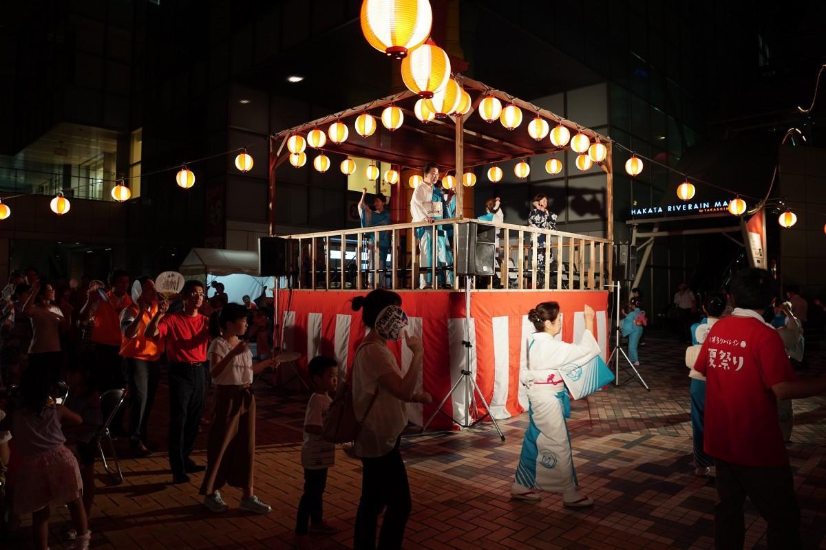 盆踊りの様子(写真は昨年の様子)