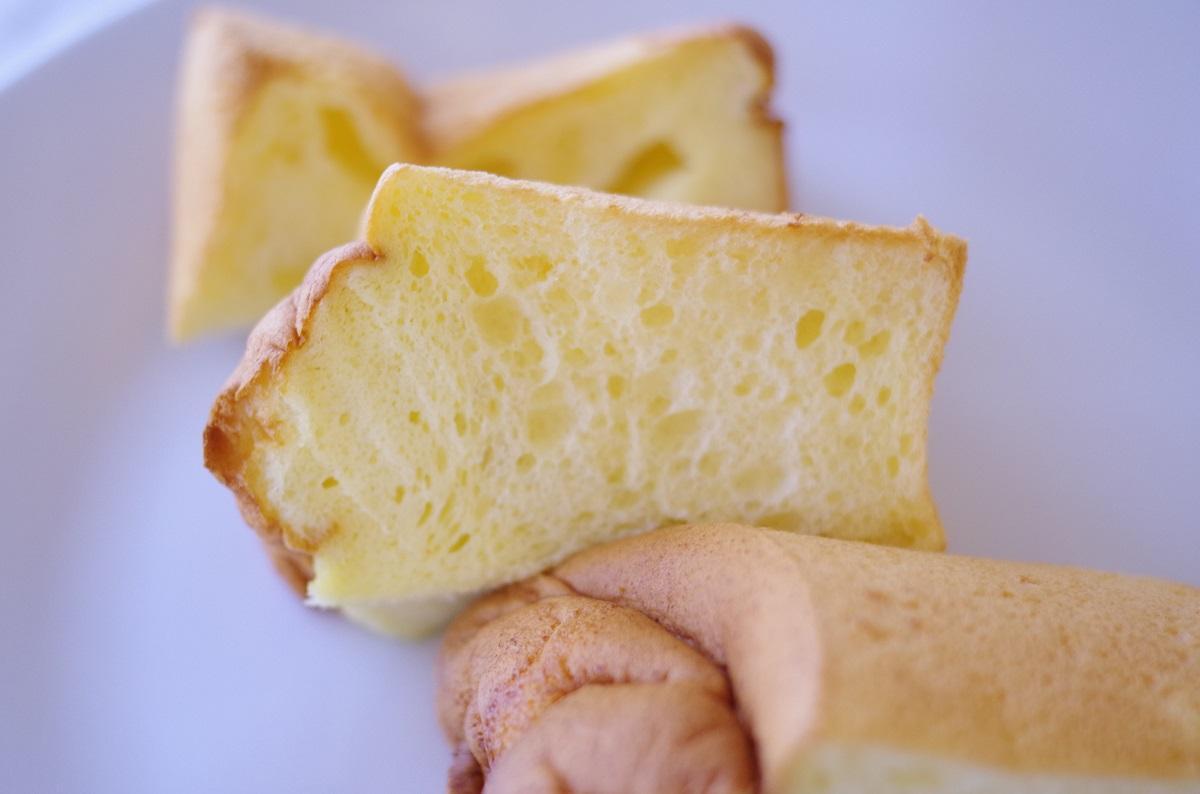「chiffon cake MARIE」のシフォンケーキ