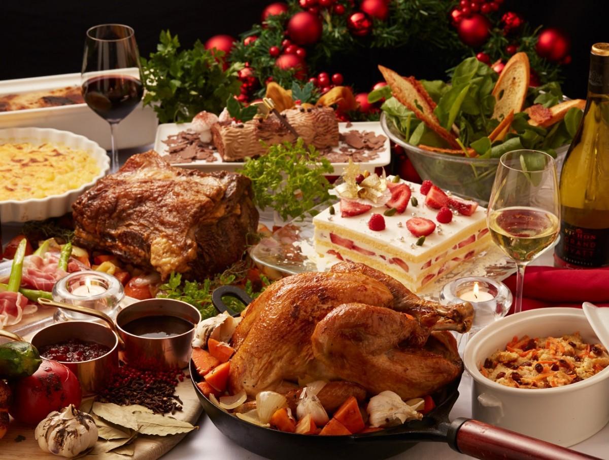 クリスマスランチビュッフェ(写真はイメージ)