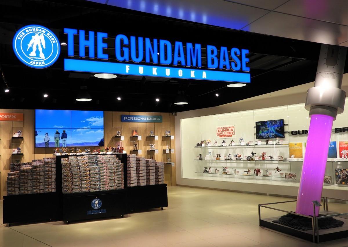 「THE GUNDAM BASE FUKUOKA」店舗の様子©創通・サンライズ ©創通・サンライズ・MBS ©創通・サンライズ・テレビ東京