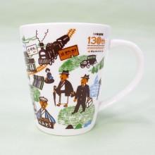 JR九州商事、「九州鉄道開業130周年記念マグカップ」 数量限定で