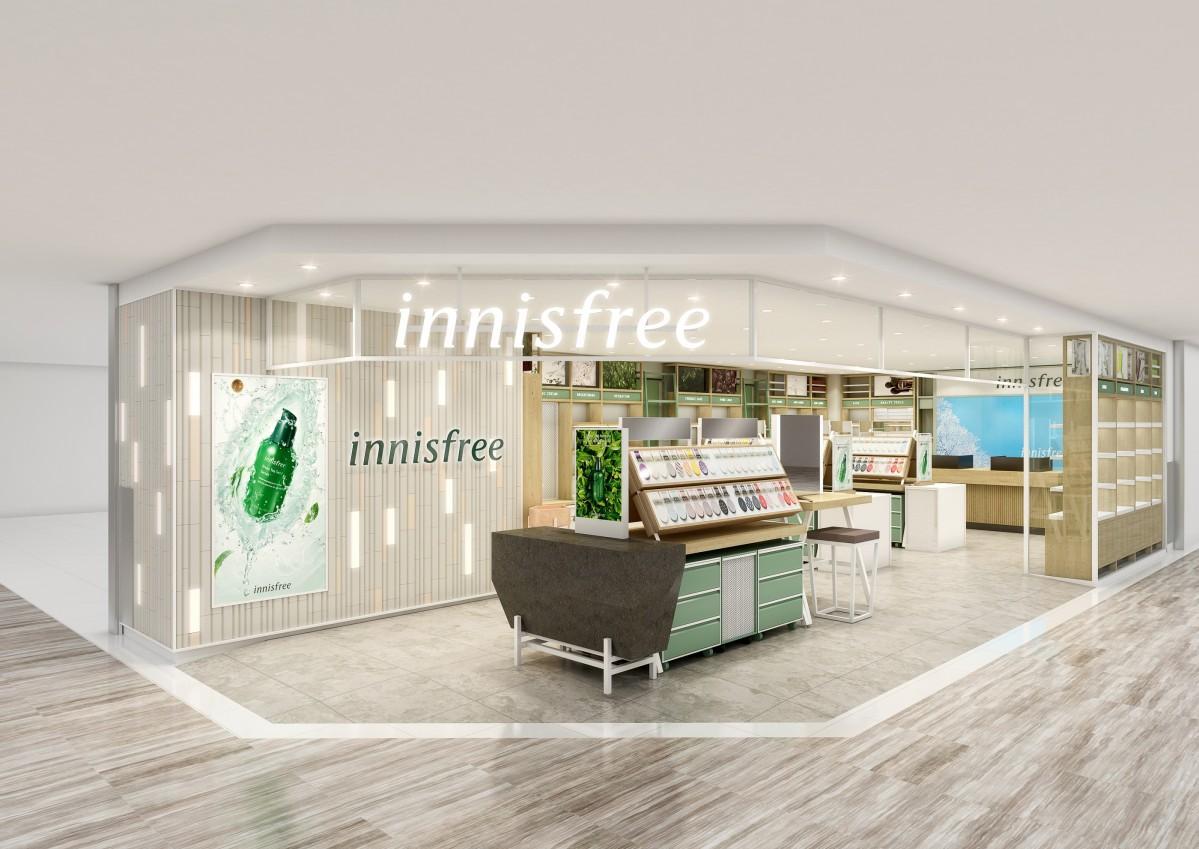 韓国コスメ「innisfree(イニスフリー)」が開店