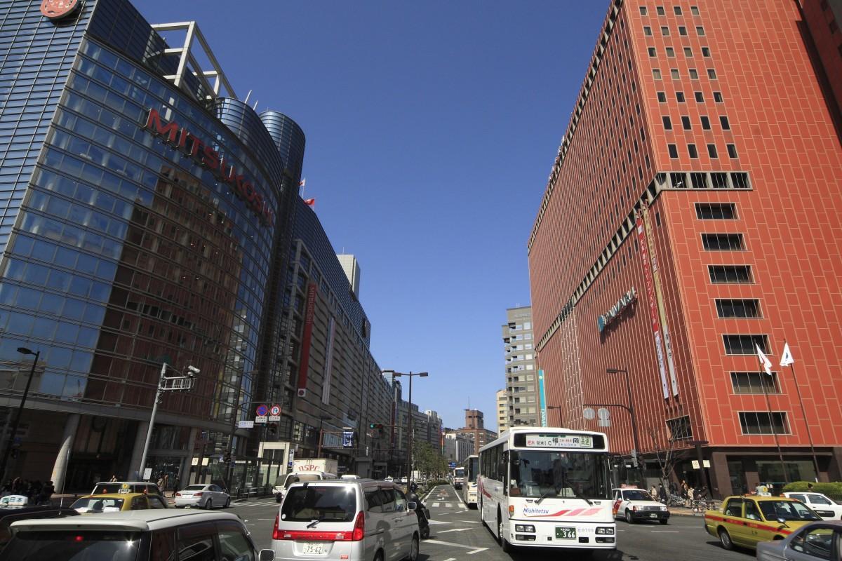天神、渡辺通り(写真提供=福岡市)