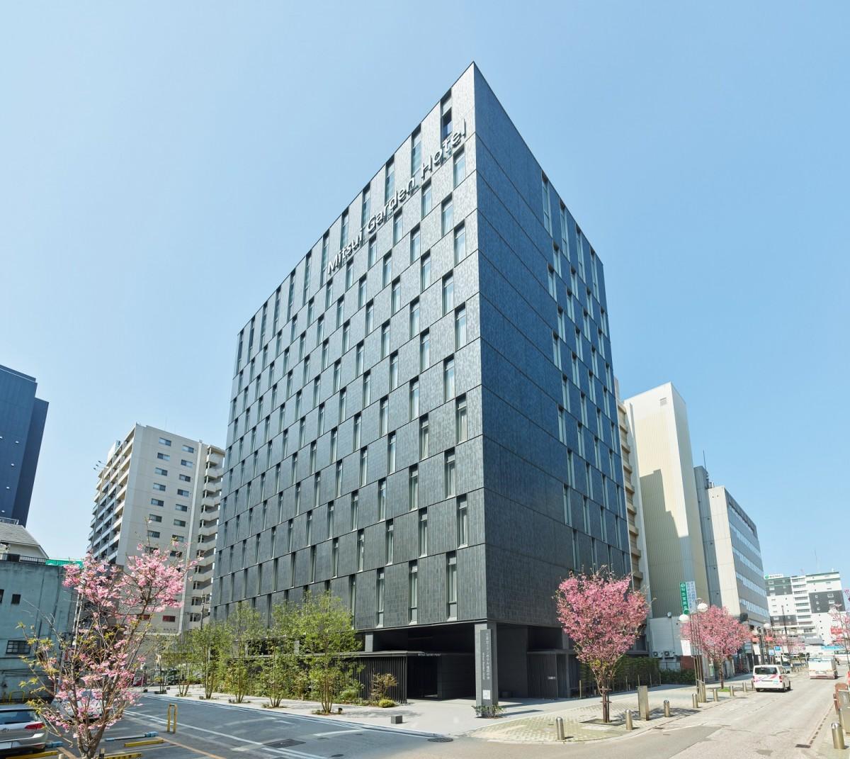 「三井ガーデンホテル福岡中洲」外観
