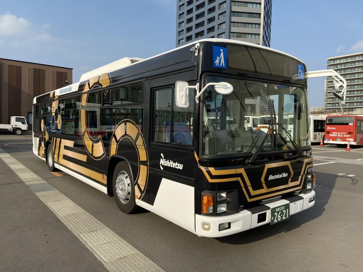 西日本鉄道の電気バス