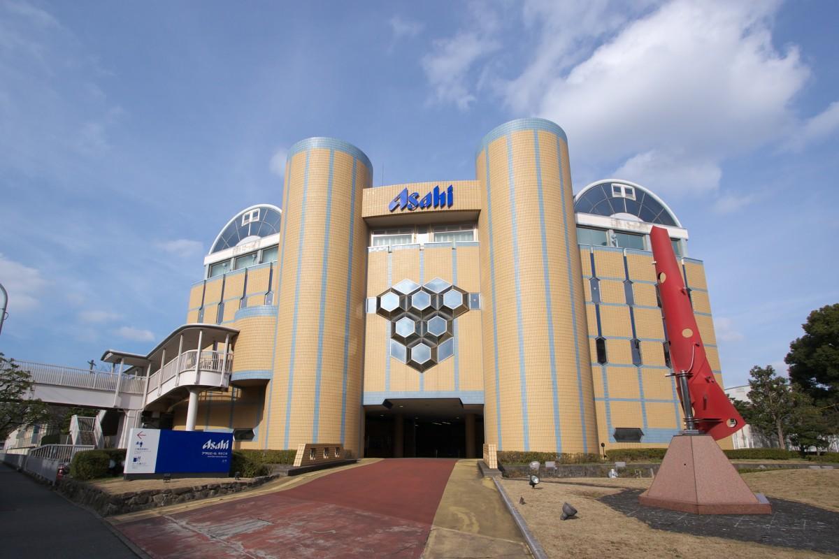 アサヒビール博多工場外観